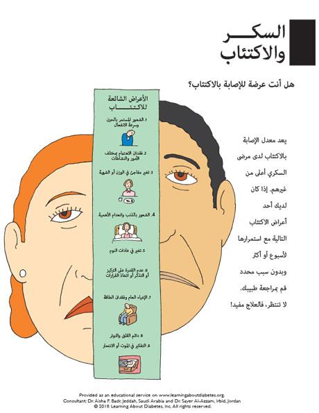 Diabetes auf arabisch
